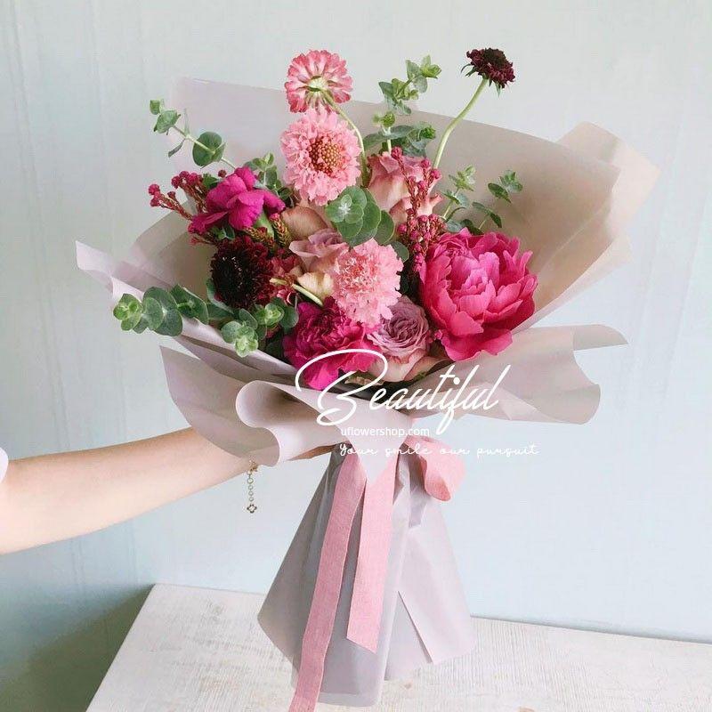 Birthday bouquet-beautiful