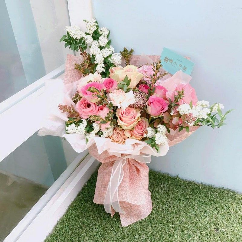 Love is the sea bouquet
