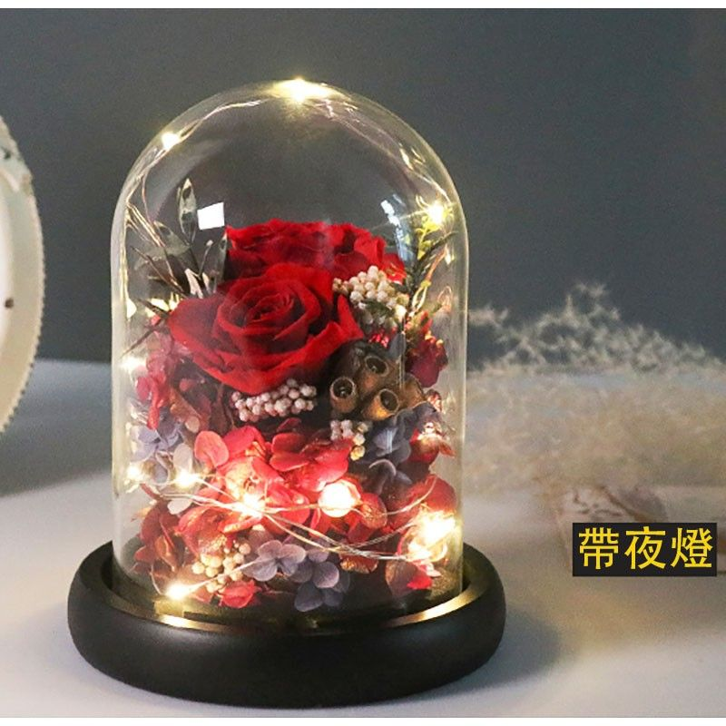 Preserved Flowers-Red Rose