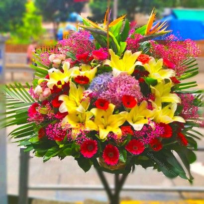 Opening Flower Stand- Good...