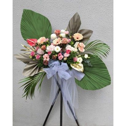 Opening Flower Stand-Good luck