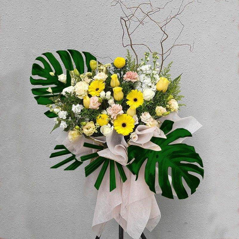 Opening Flower Stand-Happiness