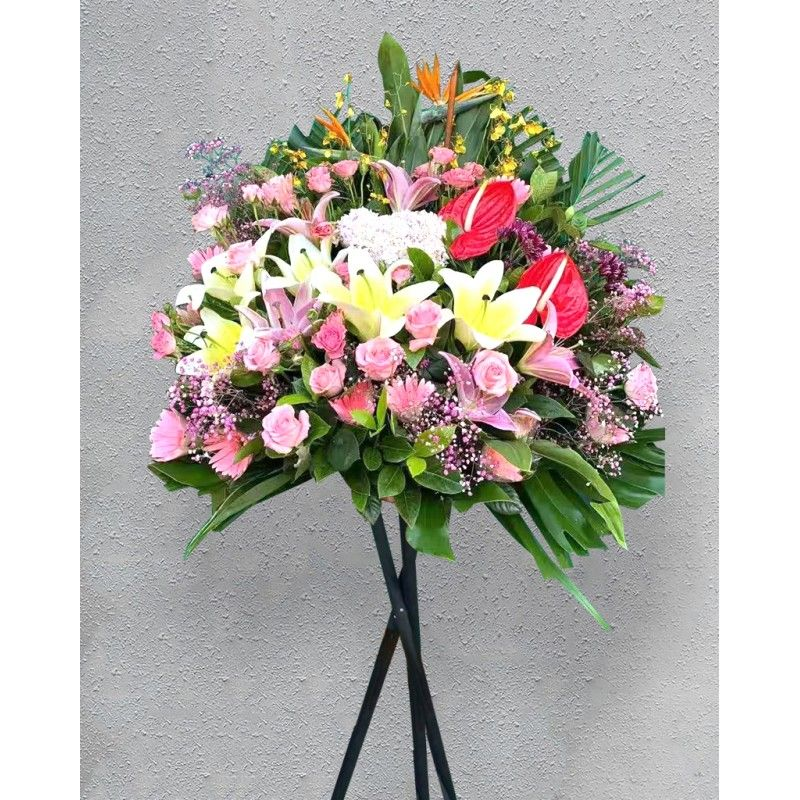 Opening Flower Stand-Long...