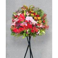 Opening Flower Stand-Very Rich