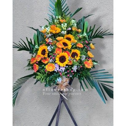 Opening Flower Stand-Welcome - OPS1506K