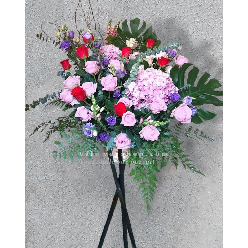 Opening Flower Stand-Wealth