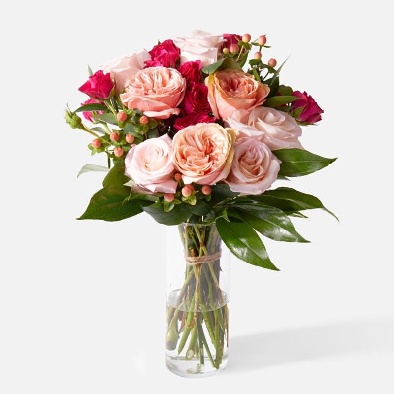 Rose bouquet Romeo and Juliet