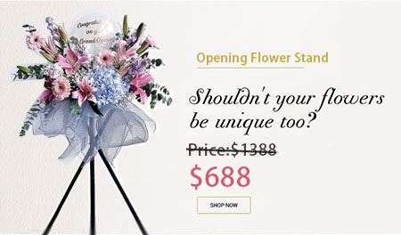 Opening Flower Stand Promotion