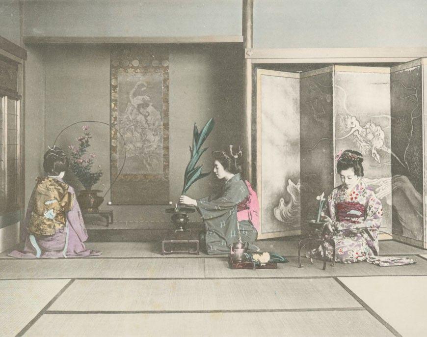 Japanese Sogetsu Ikebana Certificate Course
